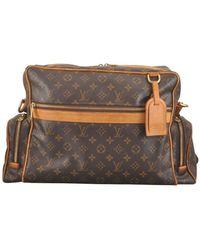 Louis Vuitton Bolso cuadrada Marrón