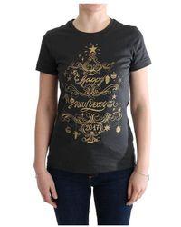 Dolce & Gabbana Cotton 2017 Motive T-shirt - Grijs