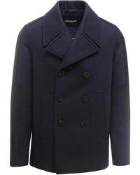 Neil Barrett Coat - Blauw