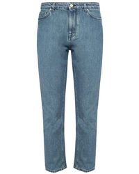 PS by Paul Smith High-waisted Jeans - Blauw