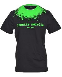 Frankie Morello T-shirt - Zwart