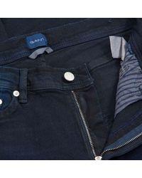 GANT - Jean coupe extra slim Azul - Lyst