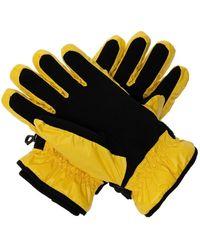 Off-White c/o Virgil Abloh Padded gloves Amarillo