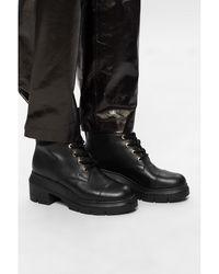 Stuart Weitzman 'Nisha heeled ankle boots Negro