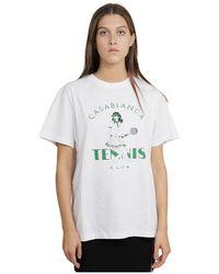 CASABLANCA T-shirt - Blanc
