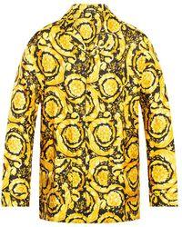 Versace Pyjama Top - Geel