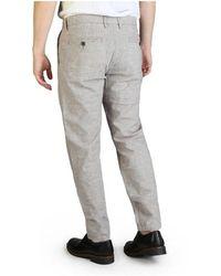 Yes-Zee Trousers - P682_Un00 Marrón