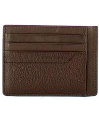 Piquadro Rfid Pan Credit Card Holder - Bruin