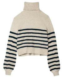 Mes Demoiselles Kousteau Sweater - Naturel