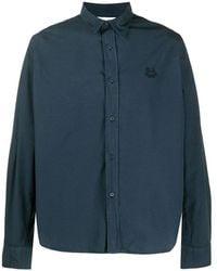 KENZO - Tiger Crest Shirt - Lyst