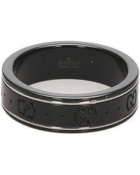 Gucci Keramische Ring - Zwart