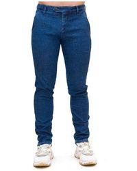 Roy Rogers Pantaloni New Rolf Pxt - Blauw