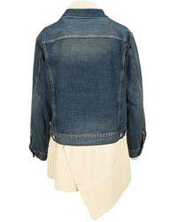 Sacai Outerwear 05711Wd Azul