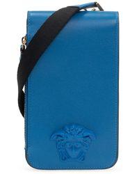 Versace Pouch On Strap - Blauw