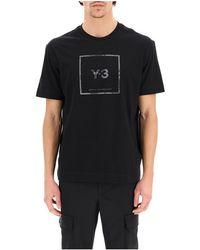 Y-3 - T-shirt Negro - Lyst