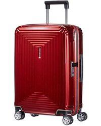 Samsonite - Neopulse Spinner 55 Cm Metallic Red - Lyst