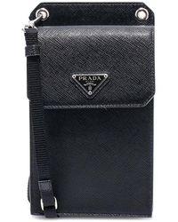 Prada Phone Cover 2zh068053 - Zwart