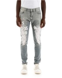 Represent Painted Jeans - Blauw
