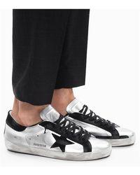Golden Goose Deluxe Brand 'superstar' Sneakers - Grijs