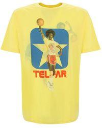 Telfar T-shirt - Jaune
