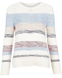 Barbour Littlehampton knit jumper - Neutre