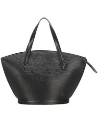 Louis Vuitton Epi Saint Jacques PM cinturino corto in pelle - Nero