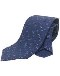 Hermès Tie - Blu
