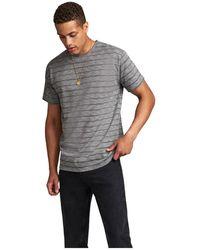 Anerkjendt Akkikki Stripe T-shirt - Grijs
