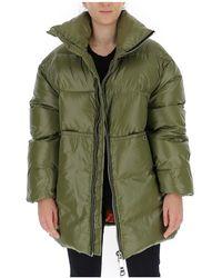 Khrisjoy Oversized padded coat - Vert