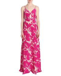 N°21 Long Dress - Rosa
