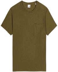 NN07 T-shirt - Groen