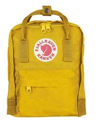 Fjallraven Kanken Mini Backpack - Geel