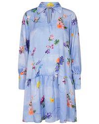 Part Two Nucuba Dress - Blauw