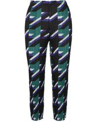 Issey Miyake Printed Pleated Pants - Nero