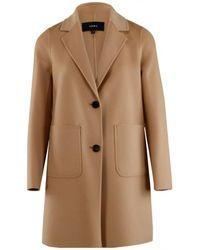 Arma Wool coat - Marrone