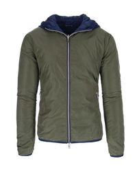 AT.P.CO - Jacket With Hood - Lyst