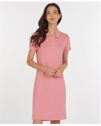 Barbour Polo dress Rosa