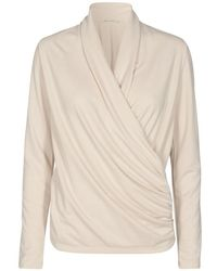 Inwear Wrap Alanoiw Bluse - Naturel