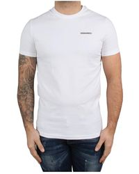 DSquared² Round Neck T-shirt - Wit