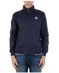 North Sails 602773 Waterproof Jacket - Blauw