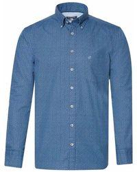 Campbell Shirt 059708 306 - Blauw