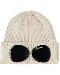 C.P. Company Bonnet à lunettes - Grigio
