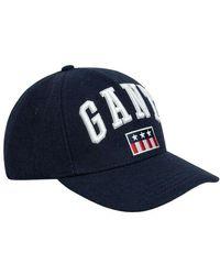 GANT Cap - Blauw