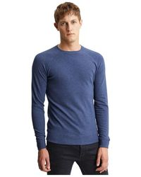 Denham Knit - Blauw