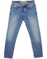 Haikure Cleveland Jeans Crop Comfort - Blauw