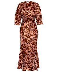 The Attico Dress - Marrone