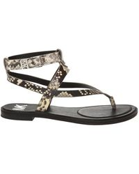 Michael Kors Pearson sandals with logo - Grigio