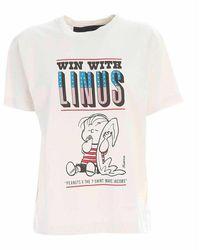 Marc Jacobs Peanuts X The T-shirt Mj - Naturel