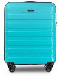 Conwood Carmel 55 Cm Etherial Blue Cabin Suitcase - Blauw