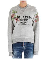 DSquared² Women's Sweatshirt - Grijs
